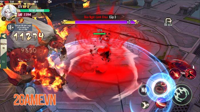 Ngạo Kiếm Vô Song Mobile tấp nập người chơi trong ngày đầu ra mắt 2
