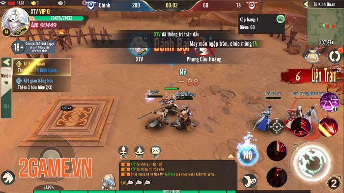 Ngạo Kiếm Vô Song Mobile tấp nập người chơi trong ngày đầu ra mắt 6
