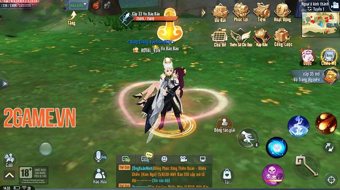 Giang Hồ Ngoại Truyện Mobile và những tính năng được game thủ đánh giá cao 1