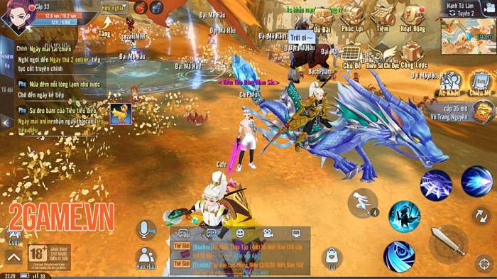 Giang Hồ Ngoại Truyện Mobile và những tính năng được game thủ đánh giá cao 0