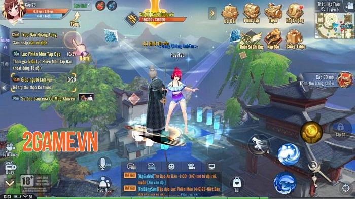 Giang Hồ Ngoại Truyện Mobile và những tính năng được game thủ đánh giá cao 3