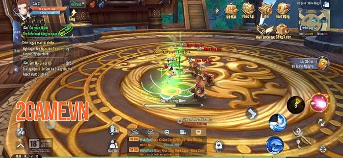 Giang Hồ Ngoại Truyện Mobile và những tính năng được game thủ đánh giá cao 2