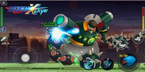 Capcom Đài Loan công bố ra mắt game cuộn cảnh Mega Man X DiVE