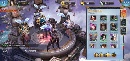 Trải nghiệm Mỹ Nhân Ký Mobile – Game thẻ tướng cho bạn chiêu mộ toàn nữ tướng về làm vợ