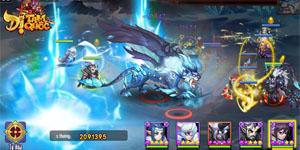 Dị Tam Quốc Mobile cho người chơi sử dụng đến 15 tướng trong một trận đại chiến