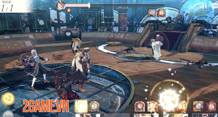 LINE Games sắp cho ra mắt game nhập vai đánh theo lượt Exos Heroes trong năm 2019 2