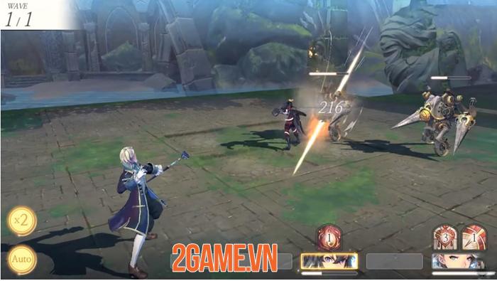 LINE Games sắp cho ra mắt game nhập vai đánh theo lượt Exos Heroes trong năm 2019 1