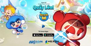 VTC Game mở tải Boom M chính chủ dành cho thị trường Việt Nam