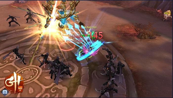 Game thủ GH Truyền Kỳ hào hứng với phiên bản mới Nhất Tiễn Khuynh Thành 4