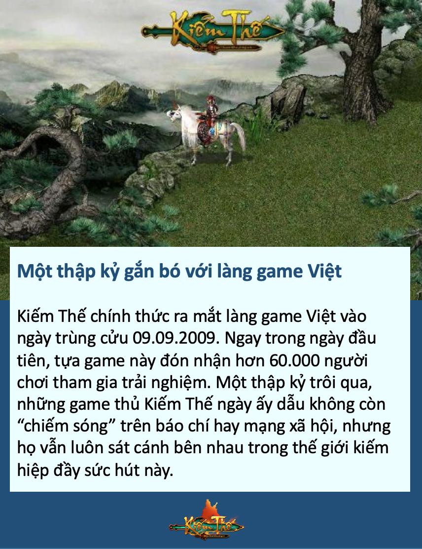 Nhìn lại hành trình Kiếm Thế  tại làng game Việt sau 10 năm phát triển 1