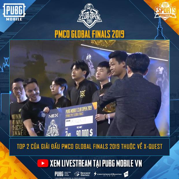 Trung Quốc ẵm trọn 3 vị trí đầu tại Chung kết thế giới PUBG Mobile ở Đức 2
