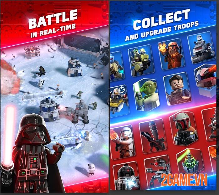 LEGO Star War Battles - Game chiến thuật bối cảnh vũ trụ Star War với đồ hoạ LEGO lạ mắt 0