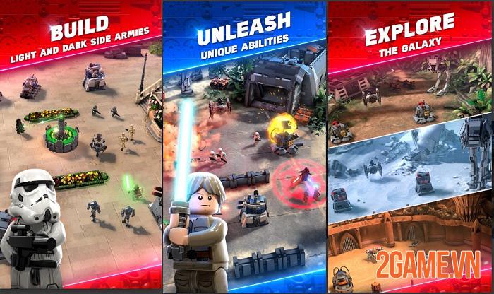 LEGO Star War Battles - Game chiến thuật bối cảnh vũ trụ Star War với đồ hoạ LEGO lạ mắt 1