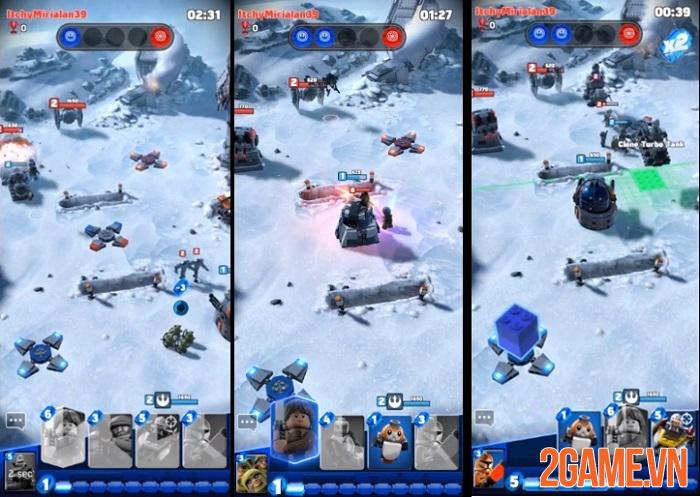 LEGO Star War Battles - Game chiến thuật bối cảnh vũ trụ Star War với đồ hoạ LEGO lạ mắt 2