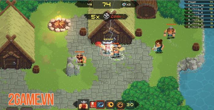 Vikings Village: Party Hard - Game loạn đấu sở hữu lối chơi đơn giản và vui vẻ 2