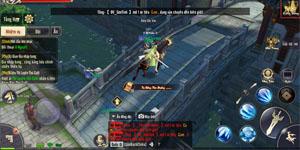 Tiêu Dao Mobile khiến người chơi căng thẳng từng phút khi làm nhiệm vụ quốc gia