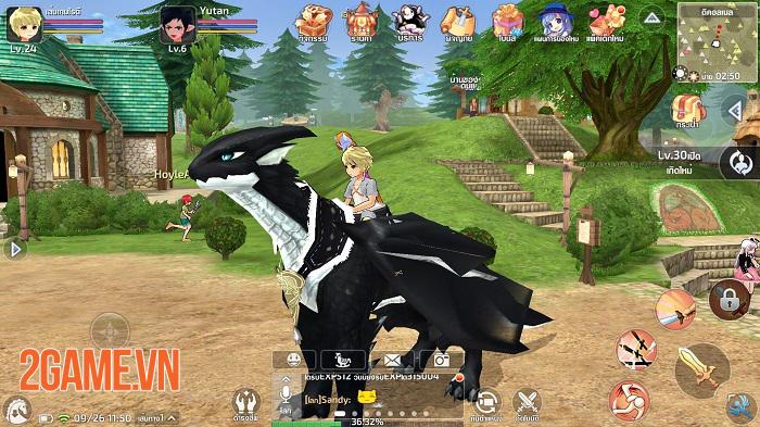 Mabinogi: Fantasy Life Mobile - Game nhập vai chuyển thể từ PC ra mắt bản tiếng Việt 1