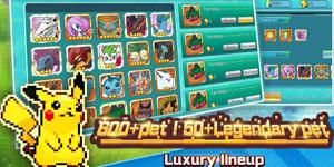 Adventure Journey – Game nhập vai đề tài Pokemon sử dụng đồ hoạ Pixel cổ điển