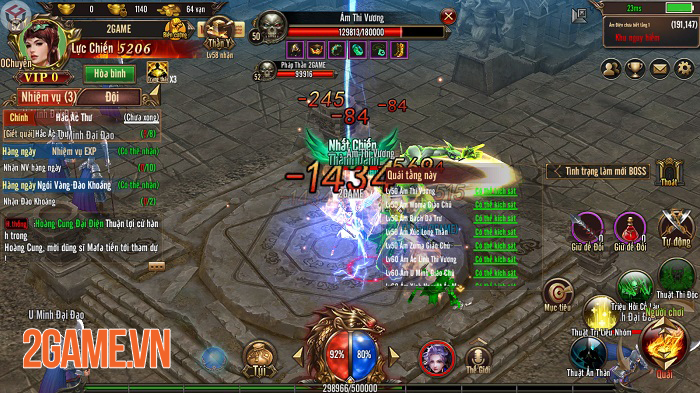 Mộng Chinh Đồ Mobile mô phỏng thời kỳ hoàng kim của dòng game nhập vai trên PC 2