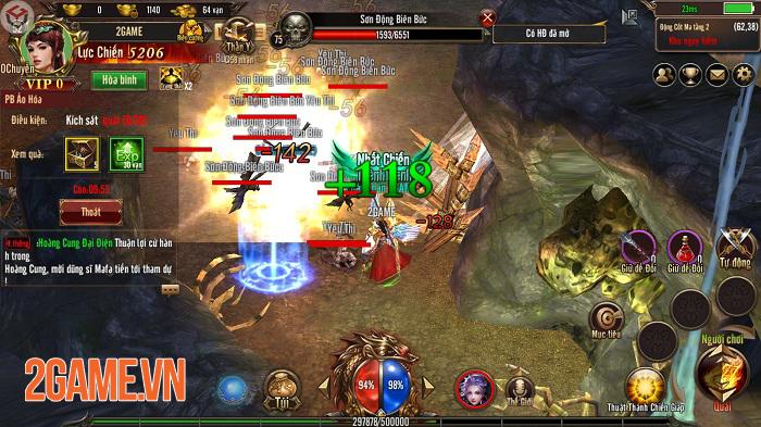Mộng Chinh Đồ Mobile mô phỏng thời kỳ hoàng kim của dòng game nhập vai trên PC 4