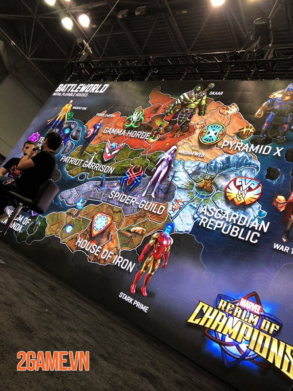Marvel Realm of Champions lấy cảm hứng từ cốt truyện Secret Wars nổi tiếng của Marvel 0