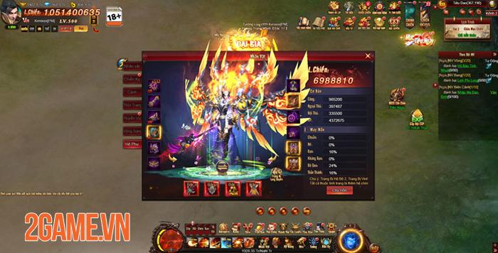 Webgame nhập vai viễn tưởng Cửu Thiên 3 mở cửa 3