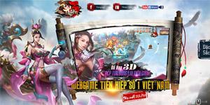 Webgame nhập vai viễn tưởng Cửu Thiên 3 mở cửa