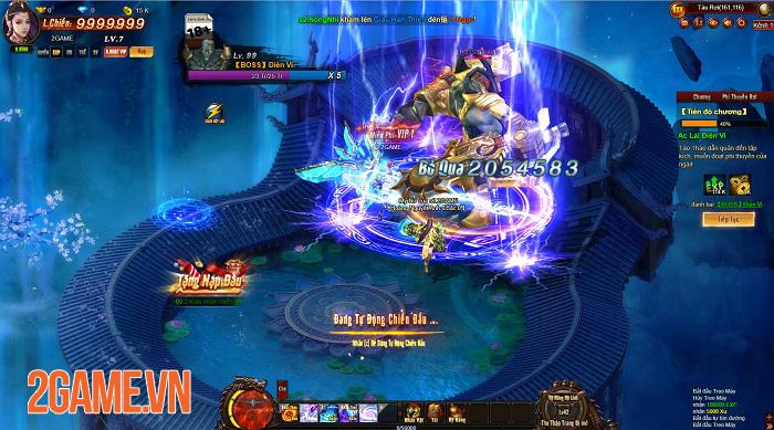 Webgame Cửu Thiên 3 tự tin đáp ứng được tất cả nhu cầu của người chơi 2
