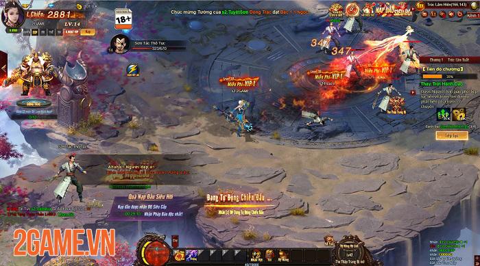 Cửu Thiên 3 cho thấy chất lượng vượt trội so với tiêu chuẩn của webgame 0