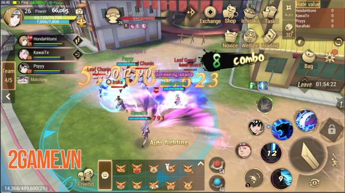 Naruto: Slugfest mở đăng kí sớm cho game thủ Đông Nam Á được thử nghiệm trước 2
