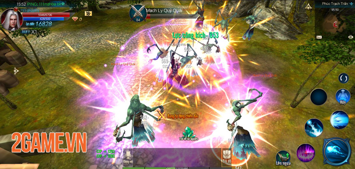 Chúa Nhẫn Mobile sở hữu lối chơi cày cuốc khá tương đồng với MU Online 2