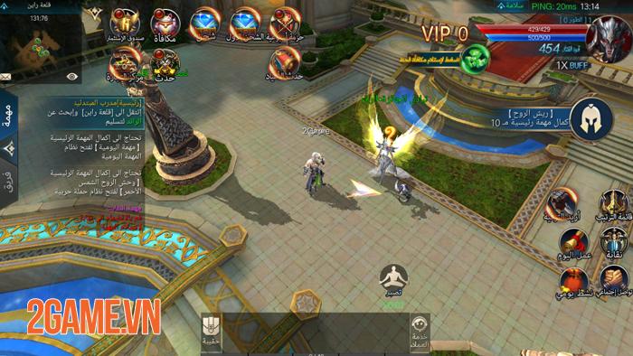 Chúa Nhẫn Mobile sở hữu lối chơi cày cuốc khá tương đồng với MU Online 3