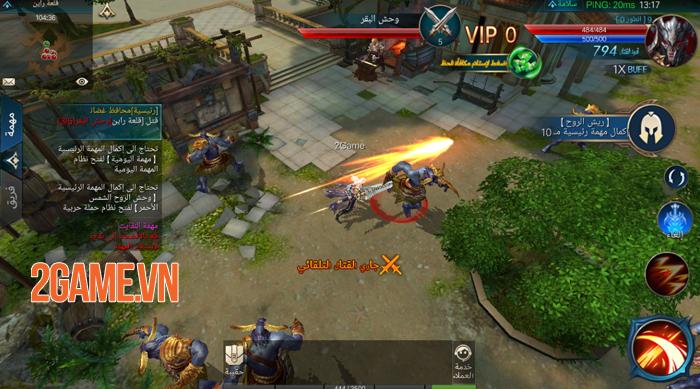 Chúa Nhẫn Mobile sở hữu lối chơi cày cuốc khá tương đồng với MU Online 4