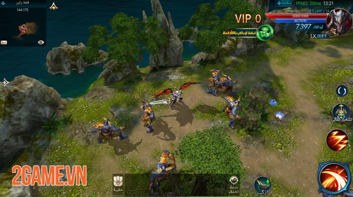 Chúa Nhẫn Mobile sở hữu lối chơi cày cuốc khá tương đồng với MU Online 5