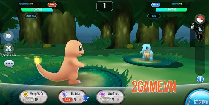Bộ ba Pokemon khởi đầu trong game Poke Origin tưởng cùi song lại khỏe không tưởng 1
