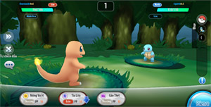 Bộ ba Pokemon khởi đầu trong game Poke Origin tưởng cùi song lại khỏe không tưởng