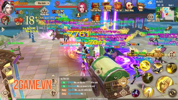 Game thủ Tân Thiên Long Mobile tấm tắc khen bản update Nguyệt Ảnh Kỳ Trận 3
