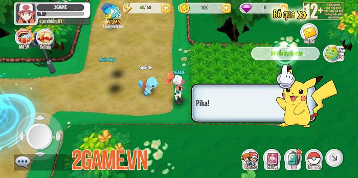 Poke Origin mở ra một thế giới Pokemon tuyệt đẹp với lối chơi thú vị 0