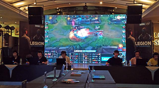 Buổi offline giải đấu cộng đồng Legion of Champion được tổ chức trang trọng 2