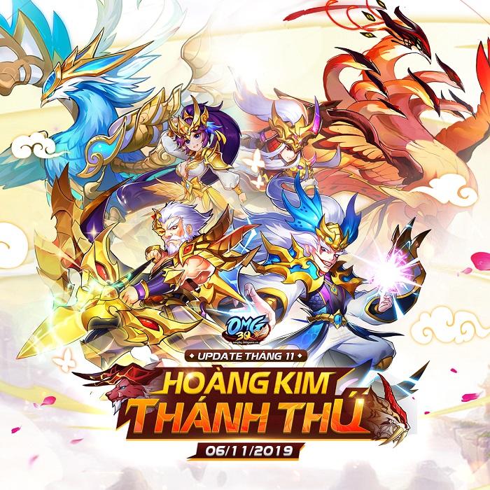 OMG 3Q tung phiên bản mới Hoàng Kim Thánh Thú với tính năng mới cực hot 0