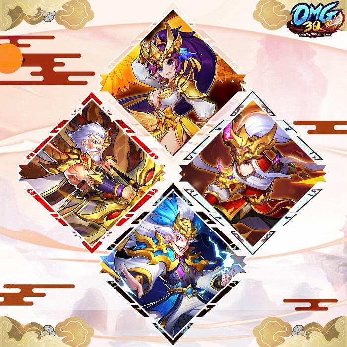 OMG 3Q tung phiên bản mới Hoàng Kim Thánh Thú với tính năng mới cực hot 1