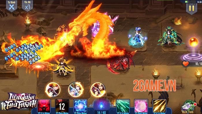 Liên Quân Thủ Thành: Diệt quỷ, trảm tướng phong cách Tower Defense 3