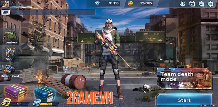 Red Dot - Game bắn súng di động được VTC Game mua nay đã ra mắt thử nghiệm 4