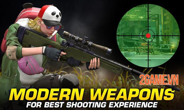 Red Dot - Game bắn súng di động được VTC Game mua nay đã ra mắt thử nghiệm 1