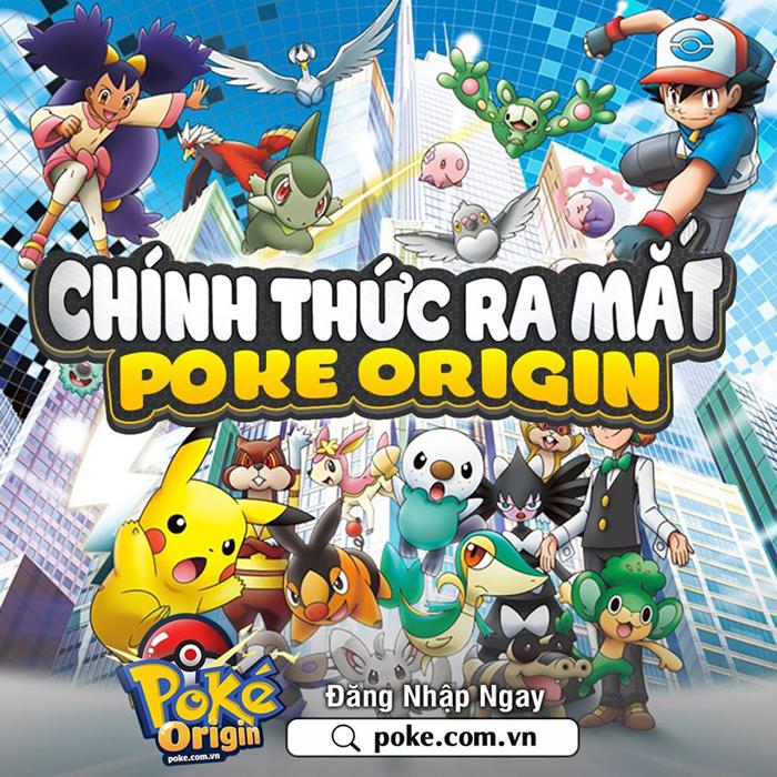 Tặng 333 giftcode game Poke Origin 0