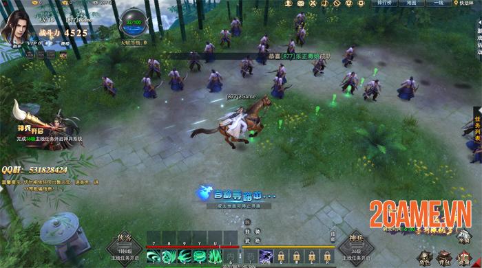 VNG ra mắt fanpage game Kiếm Vũ Giang Hồ 3D 4