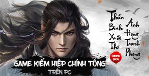 VNG ra mắt fanpage game Kiếm Vũ Giang Hồ 3D