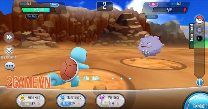 Poke Origin mở ra một thế giới Pokemon quen thuộc và kỳ thú 1