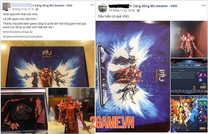 Người chơi MU Awaken VNG thi nhau khoe mô hình tượng nhân vật DK 4