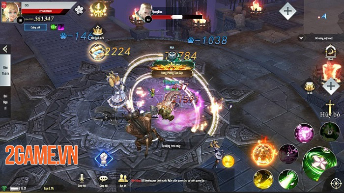 Thiên Sứ Mobile và chuyện NPH GTV lần đầu thử sức với game bối cảnh Châu Âu 2